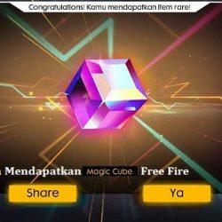 Cara Mendapatkan Magic Cube Free Fire (FF) Dengan Sangat Mudah