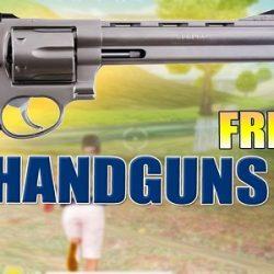 Inilah Senjata Handguns Di Free Fire Keluaran Terbaru