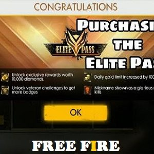 Elite Pass Privilage Card Free Fire