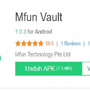 Mfun Vault Apk For Android & iOS, Dapatkan Pulsa Gratis Setiap Hari