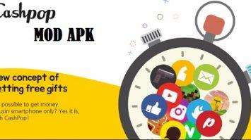 Download CashPop Mod Apk Unlimited Gold & Coins (Dapatkan Pulsa, Kuota Internet, DLL)