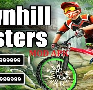 Download Downhill Masters Mod Apk, Free Diamond Dan Gold