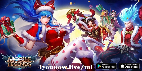 4younow.live/ml, Gratis Diamond Mobile Legends Unlimited