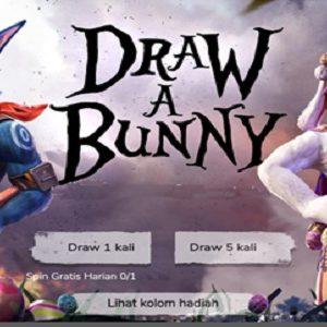 Draw A Bunny FF | Gambar Bunny FF Garena