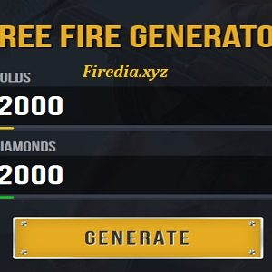 Firedia.xyz Generator Online For Golds & Diamond Free Fire Gratis