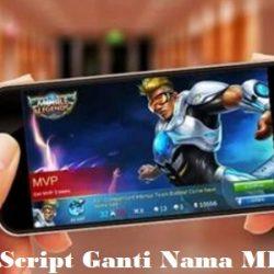Script Ganti Nama Mobile Legends