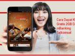 Cara Mendapatkan Kuota Gratis 2GB Dari mBanking Telkomsel
