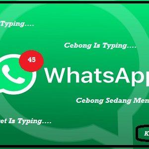 Cara Sembunyikan Status Sedang Mengetik Di WhatsApp