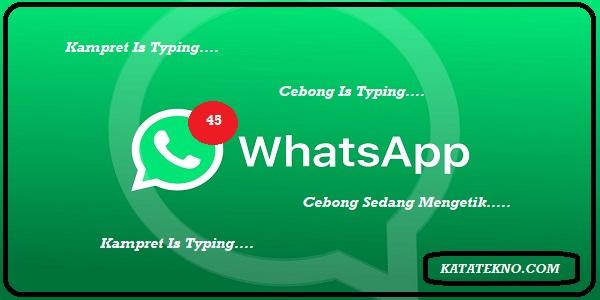 Cara Sembunyikan Status Sedang Mengetik Di WhatsApp,