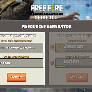 Ofire.icu Free Fire Generator Online Gratis Diamonds dan Coins