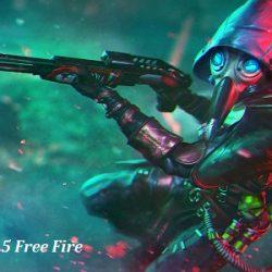 Senjata CG15 Free Fire