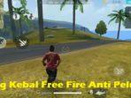 Bug Kebal Free Fire Anti Peluru