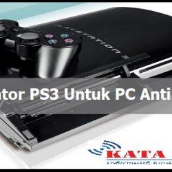 Emulator PS3 Untuk PC Anti Lag