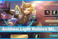 Animasi Light Reborn ML