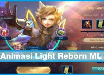 Animasi Light Reborn ML (Mobile Legends)