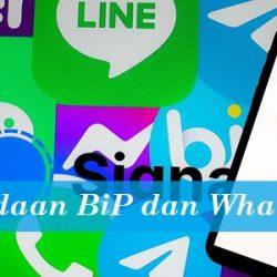 Perbedaan BiP dan WA