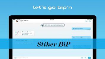 Stiker BiP