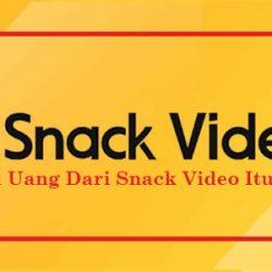 Apakah Uang Dari Snack Video Itu Ilegal